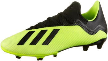 Adidas 18.3 FG Football Boot solar yellowcore blackftwr white