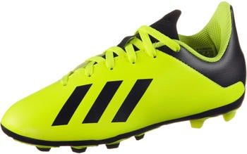 Adidas X 18.4 FXG J Football Boots DB2420 Youth solar yellowcore blacksolar yellow