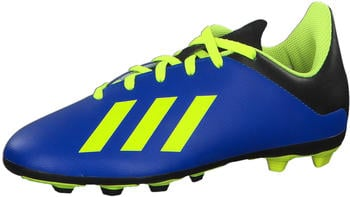 Adidas X 18.4 FXG J Football Boots DB2419 Youth fooblu/ solar yellow / core black