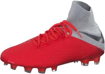 Nike Hypervenom Hypervenom III Pro Dynamic Fit FG Light crimson/wolf grey/metallic silver/metallic dark grey