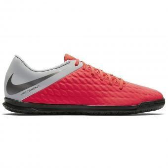 Nike HypervenomX Phantom III Club IC light crimson/wolf grey/metallic dark grey