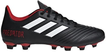 Adidas Predator 18.4 FxG black/red