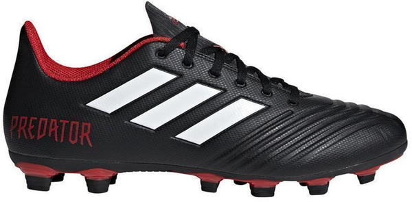 Adidas Predator 18.4 FxG black/red