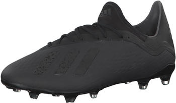 Adidas X 18.2 FG core blackcore blackftwr white