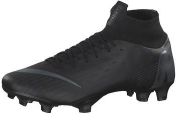 Nike Mercurial Superfly VI Pro FG black/black/light crimson/black