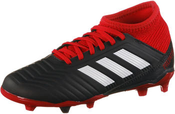Adidas Predator 18.3 FG Junior black/white/red