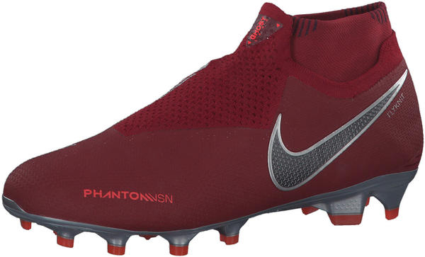 Nike Phantom Vision Elite Dynamic Fit FG AO3262 red/bright crimson/black/metallic dark grey
