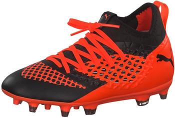 Puma Future 2.3 Netfit FG/AG Jr (104836) black shocking orange