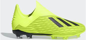 Adidas X 18+ FG Junior solar yellowcore blackftwr white
