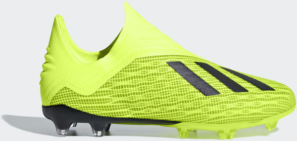 Adidas X 18+ FG Junior solar yellowcore blackftwr white