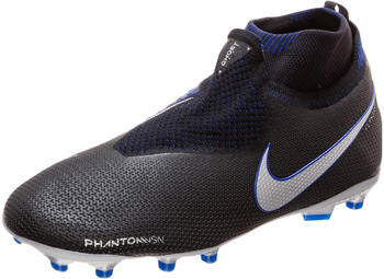 Nike Jr. Phantom Vision Elite Dynamic Fit MG black/racer blue/metallic silver
