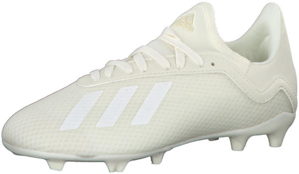 Adidas X 18.3 FG Youth off white / ftwr white / gold met