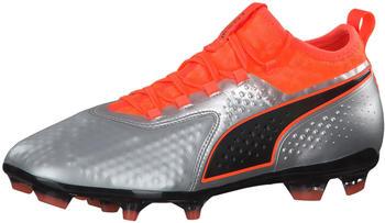 puma-one-2-leather-fg-104740-silver-shocking-orange