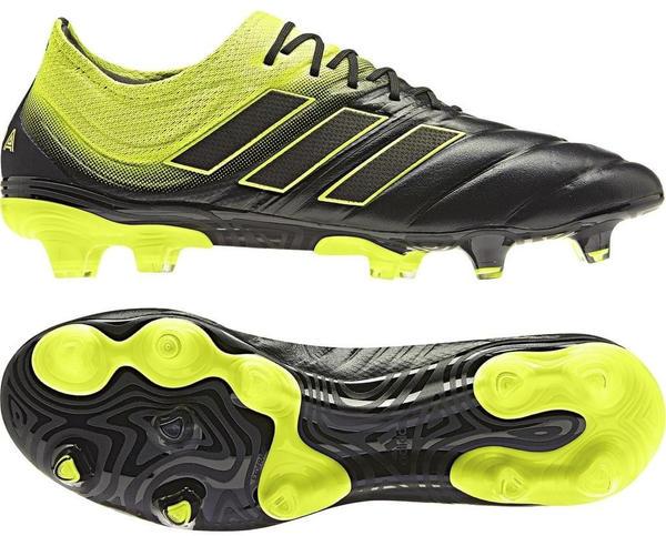 Adidas Copa 19.1 FG core black/solar yellow/core black