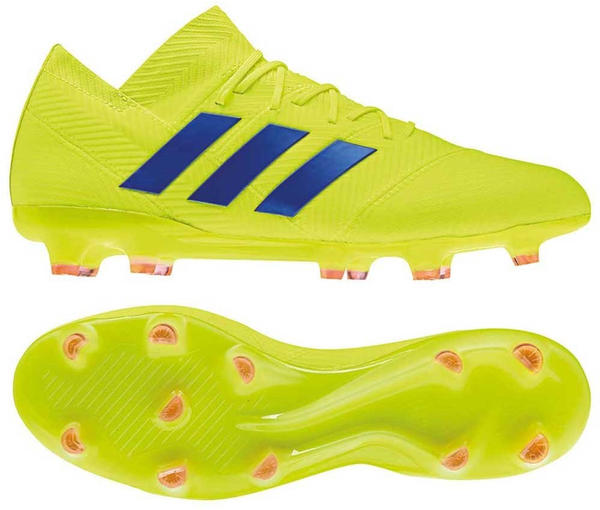 Adidas Nemeziz 18.1 FG (BB9426) Solar Yellow / Football Blue / Active Red