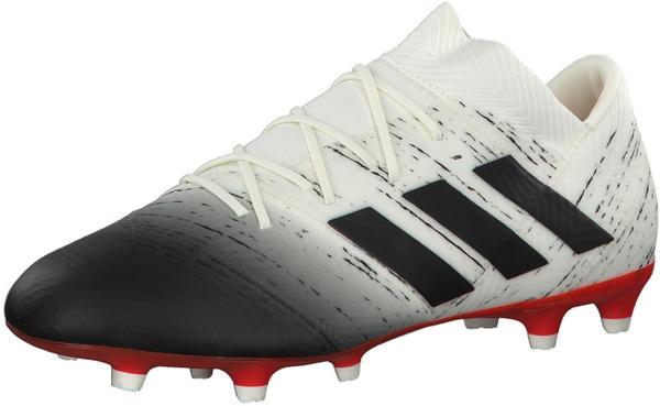 Adidas NEMEZIZ 18.2 FG (D97980) Off White / Core Black / Active Red