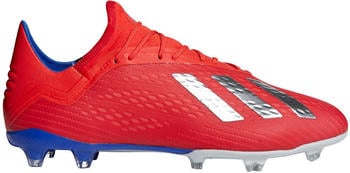 Adidas X 18.2 FG Active Red/ Silver Met/Bold Blue