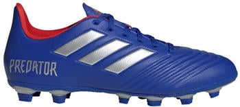Adidas Predator 19.4 FxG Men silver/ blue