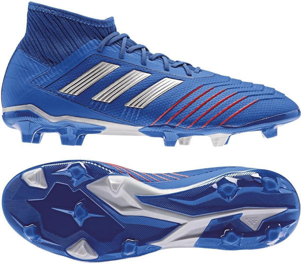 Adidas Predator 19.2 FG blue/silver