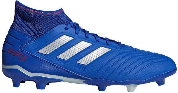 Adidas Predator 19.3 FG bold blue/silver metallic/active red