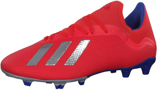 Adidas X 18.3 FG (BB9367) Active Red / Silver Met. / Bold Blue