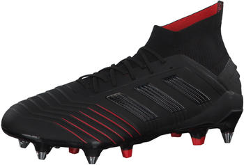 Adidas Predator 19.1 SG (G26979) Core Black / Core Black / Active Red