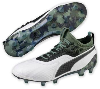 Puma ONE 1 Leather FG/AG Men (104735) White/ Green