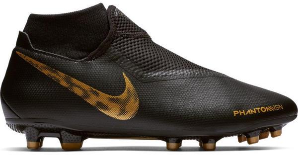 Nike PhantomVSN Elite Dynamic Fit MG black/metallic vivid gold