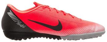 Nike MercurialX Vapor XII Academy CR7 TF bright crimson/black/chrome dark grey