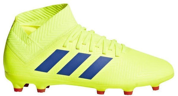 Adidas Nemeziz 18.3 Fg Junior solar yellow/blue/active red