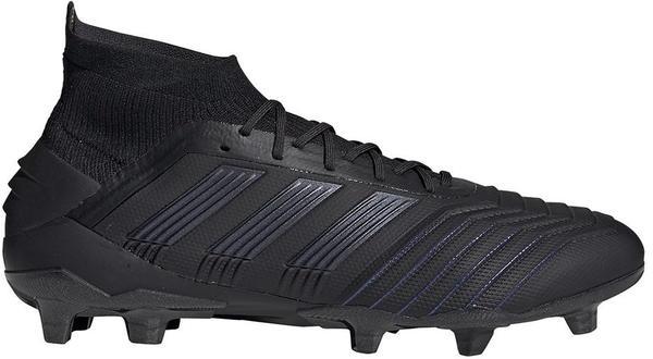 Adidas Predator 19.1 FG Men Core Black/Core Black/Utility Black