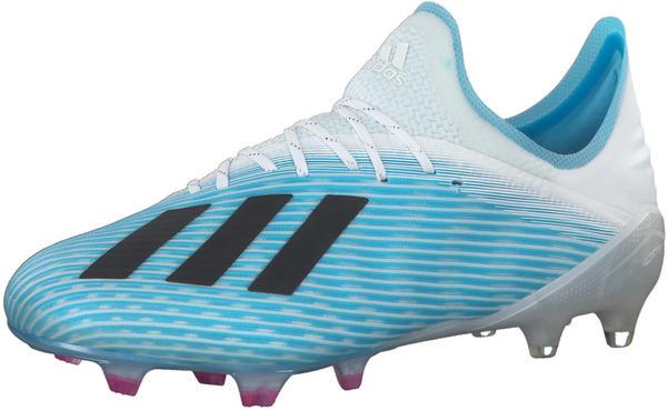 Adidas X 19.1 FG bright cyan/core black/shock pink