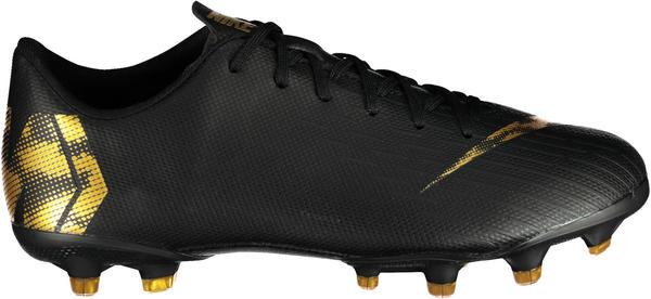 Nike Mercurial Vapor XII Academy MG Jr Black/ MTLC Vivid Gold/Black