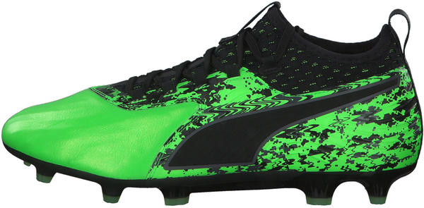 Puma One 19.2 FG/AG green gecko/black/gray