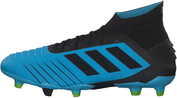 Adidas Predator 19.1 FG Men Bright Cyan/Core Black/Solar Yellow