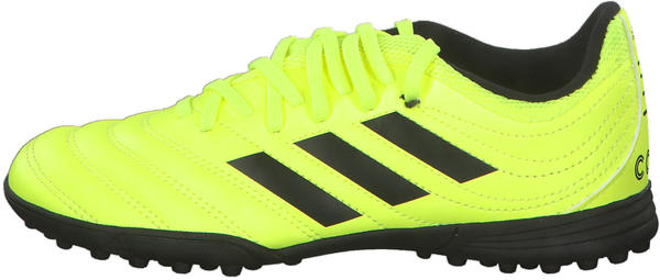 Adidas Copa 19.4 Turf J Solar yellow/Core Black/Solar yellow