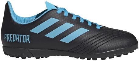 Adidas Predator Tango 19.4 Turf Jr Core Black/Bright Cyan/Solar Yellow