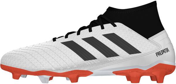 Adidas Predator 19.3 FG Silver Metallic/Core Black/Hi-Res Red