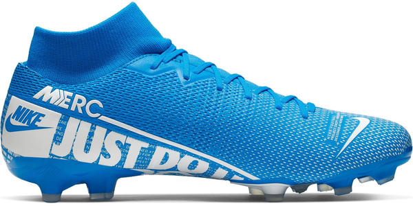 Nike Mercurial Superfly 7 Academy MG Blue Hero/Obsidian/White
