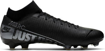 Nike Mercurial Superfly 7 Academy MG Black/Blue Fury/Cool Grey/Metallic Cool Grey