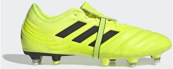 Adidas Copa Gloro 19.2 SG Fußballschuh Solar Yellow / Core Black / Solar Yellow Leder Unisex (EE8141)