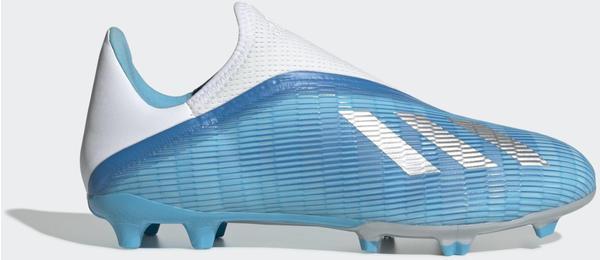Adidas X 19.3 FG Fußballschuh Bright Cyan / Core Black / Shock Pink Unisex (EF0598)