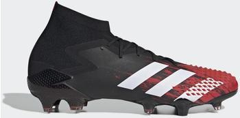 Adidas Predator Mutator 20.1 FG Fußballschuh Core Black / Cloud White / Active Red Unisex (EF1629)