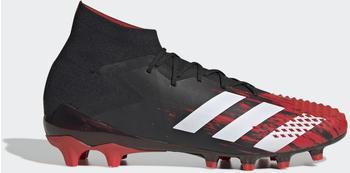 Adidas Predator Mutator 20.1 AG Fußballschuh Core Black / Cloud White / Active Red Männer (EF1632)
