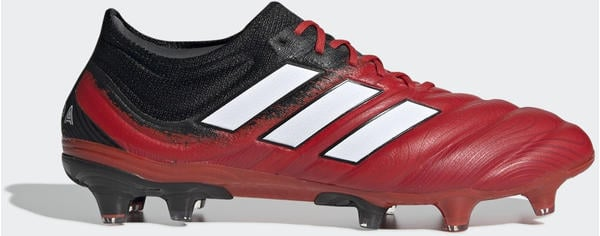 Adidas Copa 20.1 FG Fußballschuh Active Red / Cloud White / Core Black Unisex (EF1948)