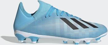 Adidas X 19.3 MG Fußballschuh Bright Cyan / Core Black / Shock Pink Unisex (EF7549)