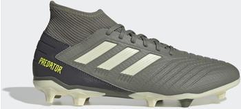Adidas Predator 19.3 FG Fußballschuh Legacy Green / Sand / Solar Yellow Unisex (EF8208)