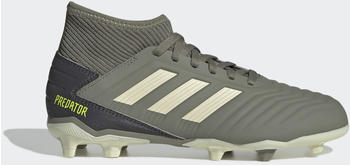 Adidas Predator 19.3 FG Fußballschuh Legacy Green / Sand / Solar Yellow Kinder (EF8215)