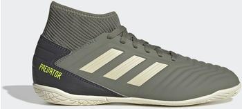 Adidas Predator Tango 19.3 IN Fußballschuh Legacy Green / Sand / Solar Yellow Kinder (EF8219)
