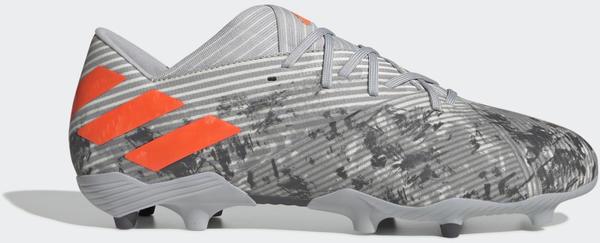 Adidas Nemeziz 19.2 FG Fußballschuh Grey Two / Solar Orange / Chalk White Unisex (EF8288)